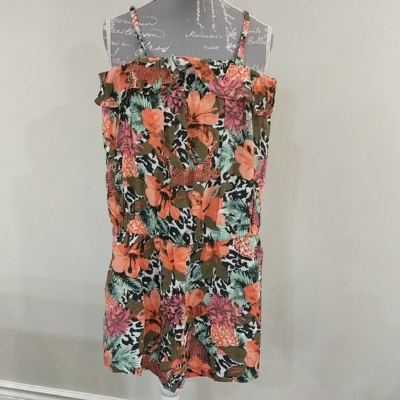 H&M tropical romper
